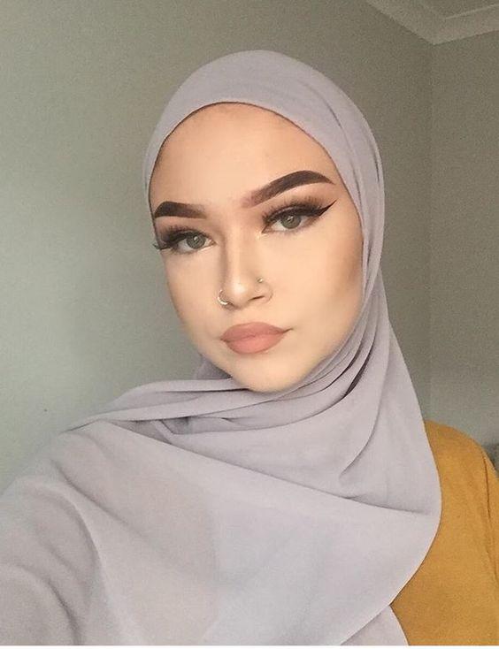 gadis islam tindik hidung