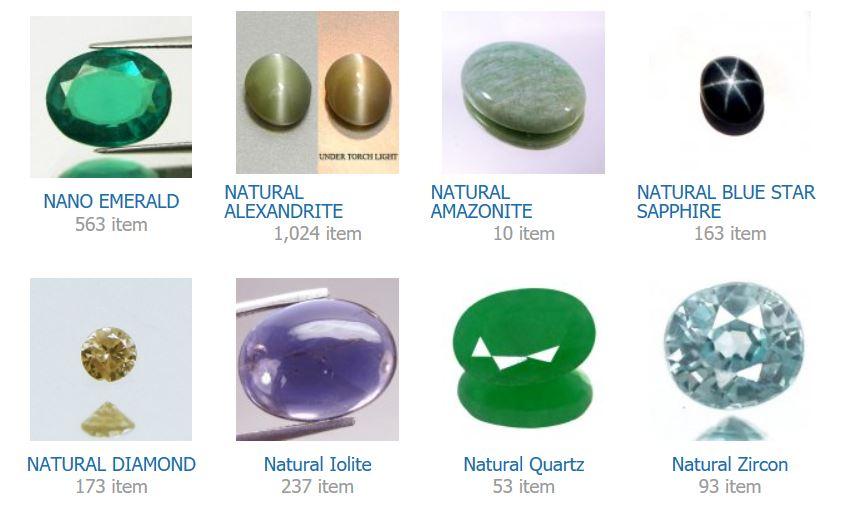 NANO EMERALD    NATURAL ALEXANDRITE    NATURAL AMAZONITE    NATURAL BLUE STAR SAPPHIRE    NATURAL DIAMOND    Natural Iolite    Natural Quartz    Natural Zircon