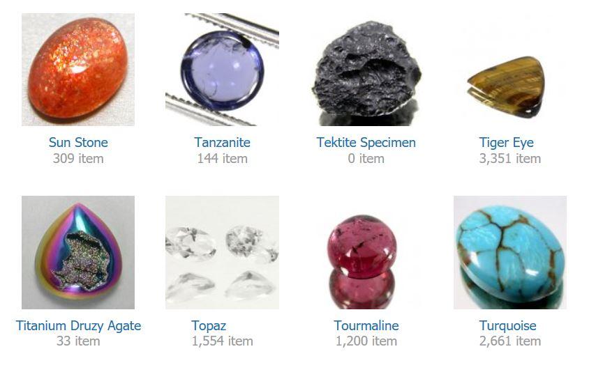Sun Stone    Tanzanite    Tektite Specimen    Tiger Eye    Titanium Druzy Agate    Topaz    Tourmaline    Turquoise