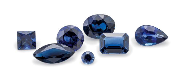 blue sapphire in Bangkok Thailand